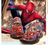 Precio de Zapatos de hombre araña para niños-Sandalias de los niños al por mayor-luces araña Use zapatos de playa antideslizante CUHK muchacho del muchacho de los zapatos de la sandalia