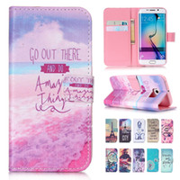 apples letter iphone - For Iphone s plus Samsung Galaxy S6 S6 Edge S5 Mini Letter Retro Patchwork Wallet Leather TPU Phone Case Cover Card Slot
