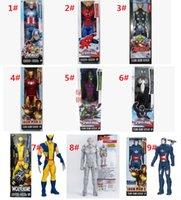 Wholesale MOQ The Avengers action figure inch Marvel spiderman iron man caption america darth vader green goblin kids toys dolls