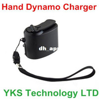 Wholesale New Dynamo Hand Crank USB Cell Phone Emergency Charger