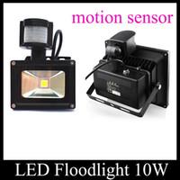 outdoor motion detector - LED Infrared Motion Security Light w Sensor Detector For Outdoor Wall Light LED Floodlight Spot Light AC V IP65 Lighting TGD031
