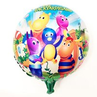 backyardigans birthday party - PC cm The Backyardigans Aluminum Foil Balloons Cartoon Globos Party Happy Birthday Decoration Globos