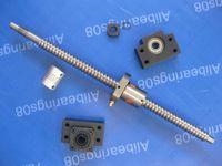 ball screw pitch - ball screw mm diameter mm pitch double start type mm C7 bearing mounts BK BF12 coupling