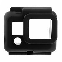 Wholesale 2015 New arrival Hot sale best quality Hot Sale Silicone Protective Dirtproof Case Cover Skin for Gopro Soft Case Drop Re