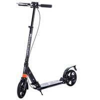 adult push scooters - Kick Scooter with Dual Suspension for Adults Teens Handbrake Scooter Push Folding Scooter Inch Wheels perfect for Urban City