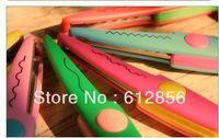 Wholesale 6 different Decorative Wave lace Edge Craft school Scissors DIY handicraft Handmade Kids Artwork Card