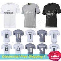Wholesale Chandal Real Madrid Soccer Jersey Camisa Real Madrid Jersey Camiseta Maillot Shirt James Bale Ronaldo CHICHARITO jerseys