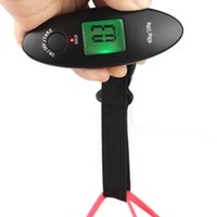 medical packaging - Portable Kg g Electronic Travel Lage Hanging Scale Practical Package Parcel Scales LCD Display Green Backlight A25