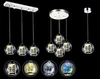Wholesale Pendant Lamps three Chandelier European LED Crystal Light Chandelier Bedroom chandelier
