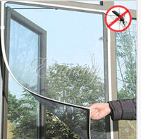 anti insect mesh - 2015 Hot Anti Insect Fly Bug Mosquito Door Window Curtain Net Mesh Screen Protector