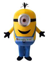 Wholesale Minions Despicable Me Mascot Costume Fancy Dress Outfit Despicable Me