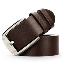 Wholesale Hot Sale Trend Fashion Male Jeans Perfect Match Pin Buckle Genuine Leather Strap All Match Belt
