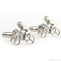 athletes factory - FC fine jewelryDirect factory price gifted athlete bicycle trade French shirt cufflinks cuff Cufflinks