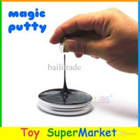 Wholesale Magic Thinking Putty Super Magnetic Plasticine DIY Magnet Clay Putty Playdough Play Doh Bouncing Zoyo Creative Toys