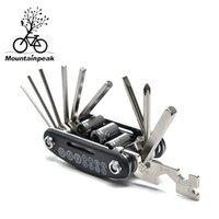 Wholesale High Quality mountain bicycle tools sets Bike Bicycle Multi Repair Tool Kit Hex Spoke Wrench Mountain Cycle Screwdriver in