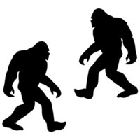 Wholesale Bigfoot Sasquatch Sticker Decal NW WA conspiracy funny car Window truck squatchin yeti