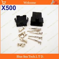 electric car kit - 500 sets Pin way Connector mm SM P Kit JST2 electric coupler for E Bike car electronic circuit ect
