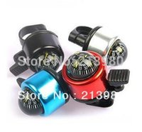 Cheap 50pcs lot free shipping Wholesale metal Bicycle Bell Ring,Metal Bell Ring bike Compass