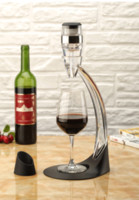 aerator wine glasses - Deluxe Wine Aerator Tower Set Red Wine Glass Accessories Quick Magic Decanter With Gift Box A