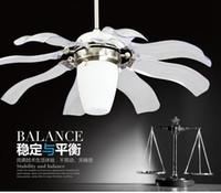 Wholesale fashion ceiling fan lights style fan lamps bedroom dinning room living room fan lighting HJ