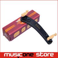 Wholesale FOM Violin Shoulder Rest High Quality Plastic Materital Light ME for Black MU0194