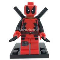 toy for man - Deadpool Minifigure Marvel X Men Super Heroes Building Blocks Sets Model Bricks Toys For Children