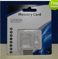 32 micro sd card - oem Retail Package For Micro SD Card TF mini Memory Card GB adapter reader MMC SDHC phone MP3 MP4 players Case box bag