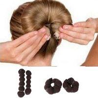 Wholesale 1 Large Small Coffee Bun Maker Fashion Useful Hair Styling DIY Tool