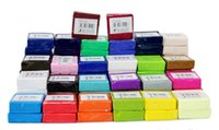 Wholesale Hot selling New colors DIY Malleable Fimo Polymer soft Clay Blocks Plasticine R0001