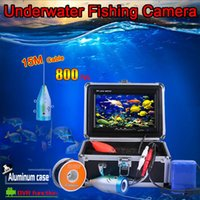Wholesale NEW quot TFT LCD Monitor TVL Portable Night Vision Fish Finder DVR Video Underwater Fishing Camera M Cable