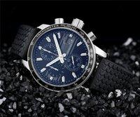 band promotions - 2015 Sale Promotion Quartz Watch Black Rubber band men Chronograph wristwatches
