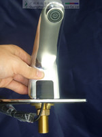 Chrome auto economic - zinc alloys automatic tap sensor faucet most economic auto water dispenser