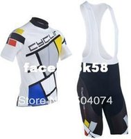 Wholesale 2013 NEW Cyclingbox bib short sleeve cycling jerseys wear clothes bicycle bike riding jerseys bib pants shorts