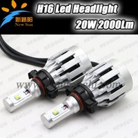 auto xml - CREE XML chips LM Led Driving Headlight V V K White light kit LED Car Auto Head Light bulb H16 EU Led headlamp