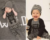 baby boy clothes - Newborn Bodysuit Pants Set Baby Boy Clothes Outfit Grey