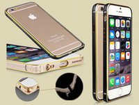 Wholesale metal frame with buckle for iphone iphone iphone s iphone plus iphone s plus