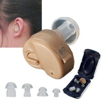 Wholesale K Mini Adjustable Tone In ear Dightal Best Invisible Sound Enhancement Deaf Volume Amplifier Hearing Aids Aid Ear Assistance