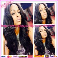 Cheap Cheap Body Wave Lace Wigs Virgin Indian Remy Hair Full Lace Body Wave Wigs Body Wave Human Hair Glueless Ful Lace Wigs Lace Front Wigs