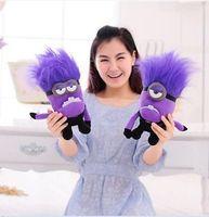 Wholesale Despicable Me Plush Toy quot Evil Purple Minions Stuffed Animal Doll new