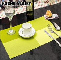 Wholesale 4 cm Square Placemats Dining Tables Place Mats Pad Tableware Utensil Restaurant Catering Accessories Supplies