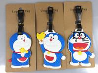 Wholesale wholesale10 cm silical gel TRAVEL TAG luggage tag cartoon movie popular cute luggage tag hot sale christmas gift