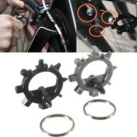 Wholesale 2015 Best Price New Gadget in Multifunction Bicycle Bike Repair Tools Outdoor Keychain Screwdriver
