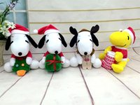 air doll - Plush Snoopy doll children Christmas gift Cartoon plush toys quot Snoopy Christmas dolls and Snoopy air force two styles
