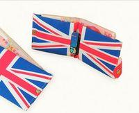 american flag photos - 300PCS LJJJ04 Creative Design Flag Wallet Fashionable Design Printing Canvas Purse Folding Mini Purses Coin Girls Gifts