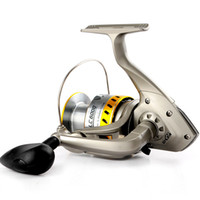 Wholesale Designer Silver Fishing Spinning Reels Popular Metal Fishing Reels Bearings Speed Ratio LC Series Hot Sale LC
