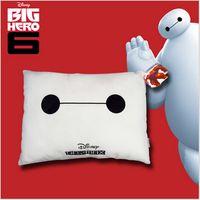 Wholesale 2015 big hero Baymax cotton linen fabric seat car sofa neck office nap pillow printed cushion Fluffy hold pillow TOPB2385