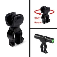 Wholesale 2015 New Degree Swivel Bicycle Bike LED Flashlight Light Mount Bracket Holder Torch Clip Clamp Cycling Grip Mount mm H10277