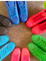 Wholesale gift Men and women superstar Pharrell Williams Supercolor Couples sneaker shoe