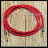 Cheap 1.3m Headphone Cable For Marshall Monitor crusher Parrot Zik Bluetooth