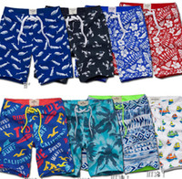 board printing - Men swimwear trunks fashion Men s quick drying beach print pants Camouflage board shorts pants plush size clothing